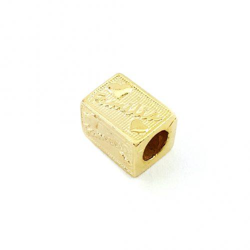 Berloque Folheado Ouro 18k Separador Família
