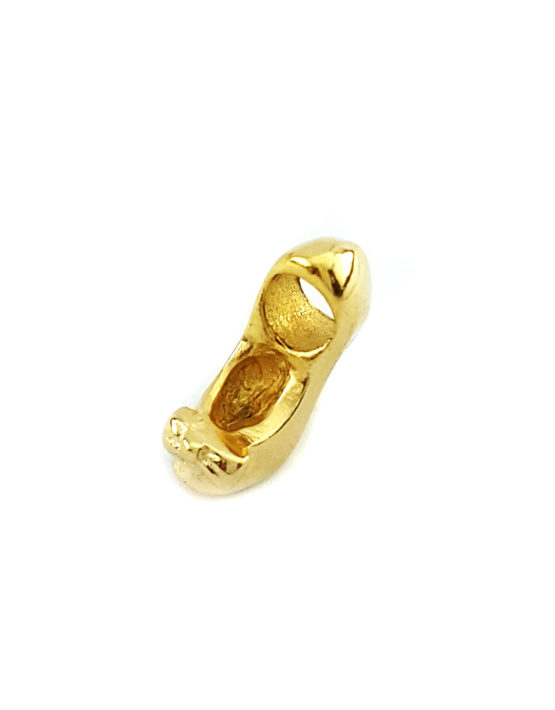 Berloque Folheado Ouro 18k Sapato Salto