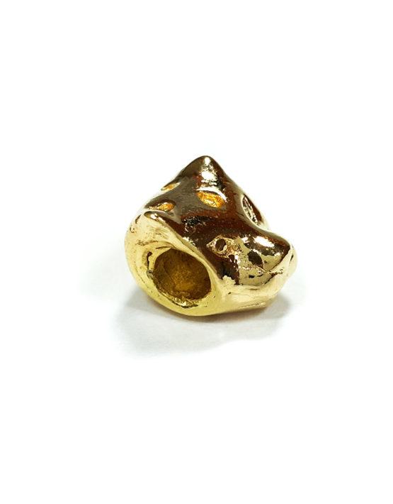 Berloque Folheado Ouro 18k Tigre