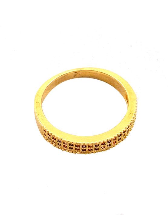 Anel folheado ouro 18K Aparador H Stern Inspired